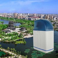 Cabinet Softener ion exchange Home water softener remove scale anti scaling water purification 8L Time type + drift resin