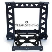 Черный/Королевский синий цвет Цвет RepRap p3steel Prusa i3 Рамки с Аппаратные средства комплект для DIY 3D принтеры