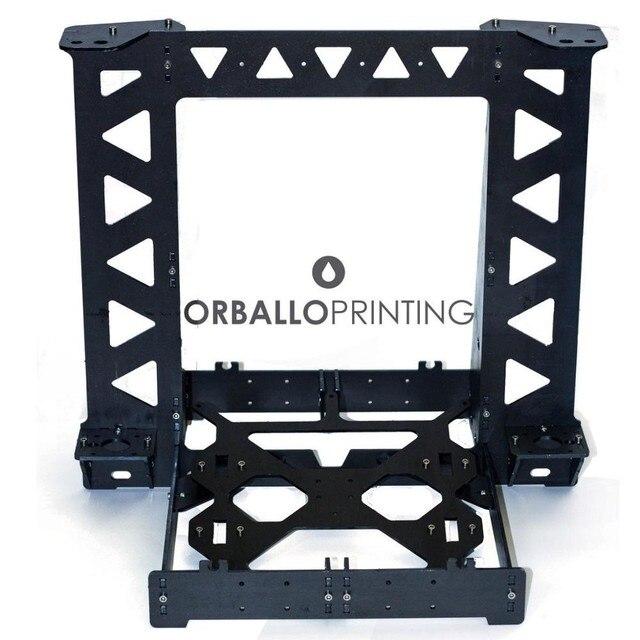 Black / royal blue Color Reprap P3STEEL Prusa i3 Frame with Hardware ...