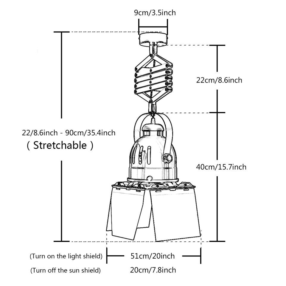 Vermelho moderno lâmpada do teto e27 suporte