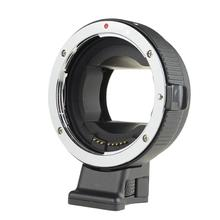 COMMLITE Auto Focus EF Lens Adapter Ring Anti-Shake for Canon EF-S Lens to make use of for Sony NEX E Mount Digital camera Full Body NEX 5 A7