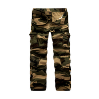 Plus Size 28 46 Cargo Pants Men Cotton High Quality New Clothing Khaki Casual Long Pants Outwear Military Work Pants Men