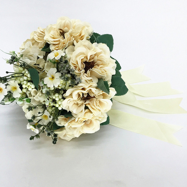 2016 New Bridal Bouquet Wedding Artificial Flowers Bouquet For ...