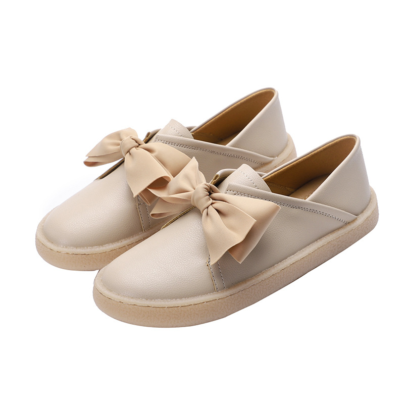 2019 NEW Luxury Women Shoes Flats Loafers Butterfly knot Fashion Shoes Woman Slip on Soft Bottom Plus Size 34 41 High Quality in Women 39 s Flats from Shoes
