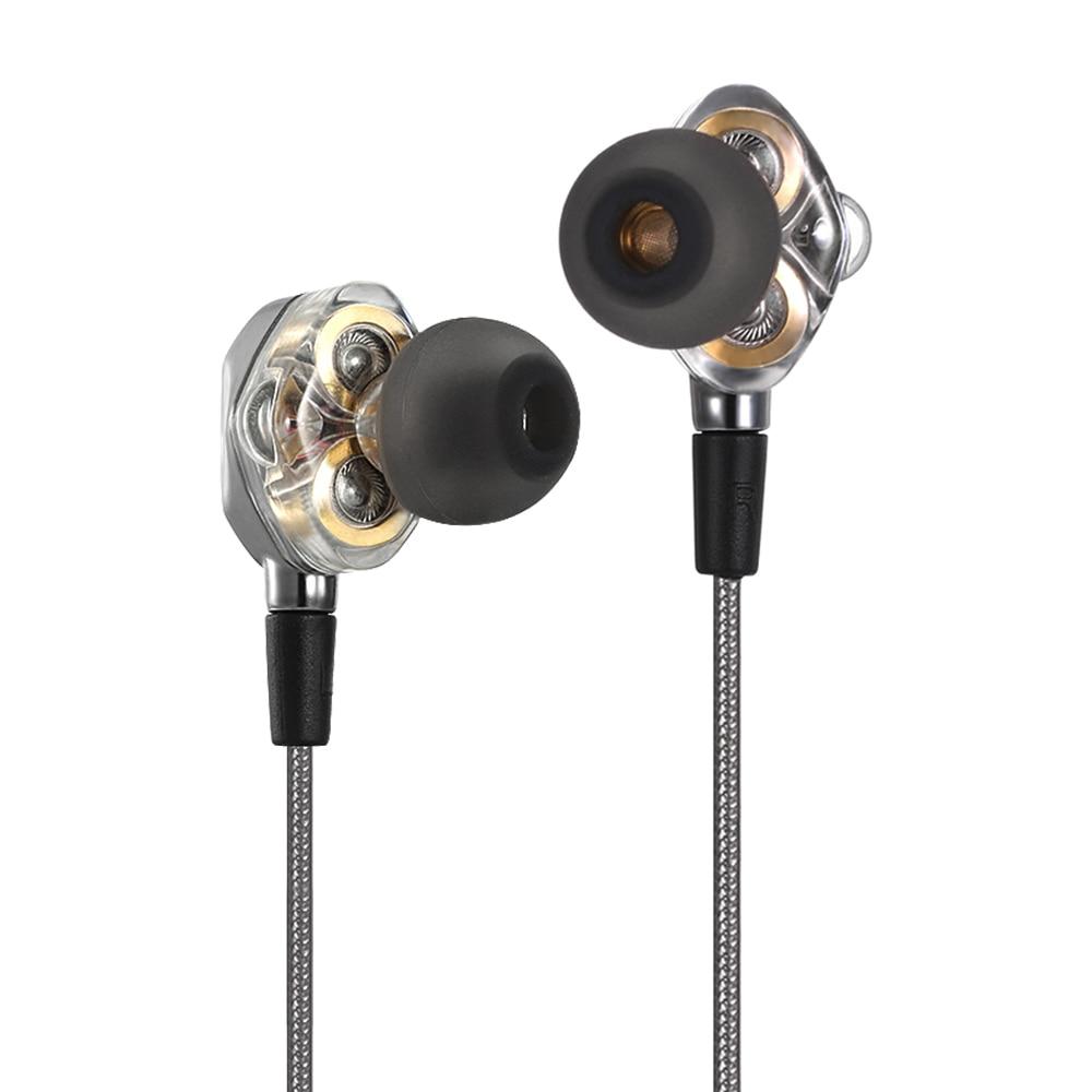Dual driver hifi earbuds - kevlar earbuds