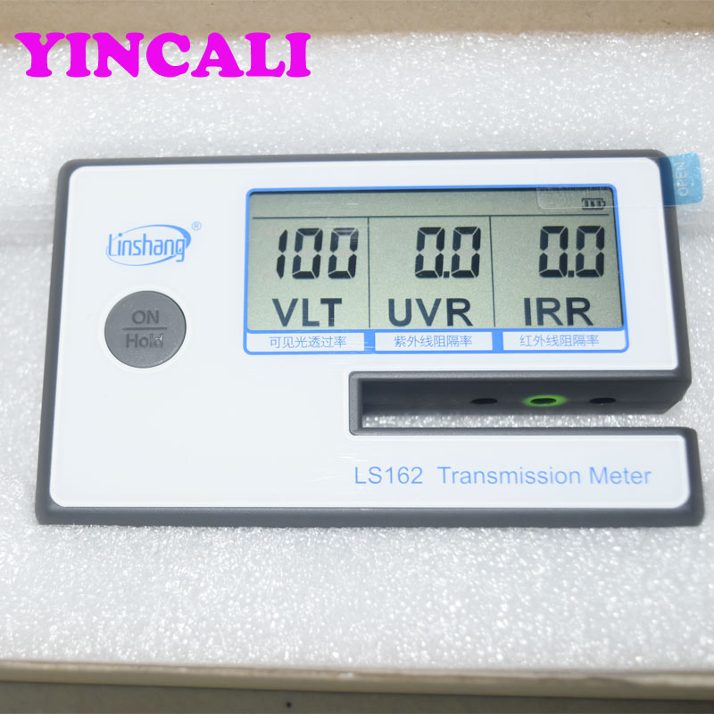 LS162 Transmission Meter Solar Film Window Tint transmission Meter The testing slot is up to 8mm, can test filmed glass directlyLS162 Transmission Meter Solar Film Window Tint transmission Meter The testing slot is up to 8mm, can test filmed glass directly