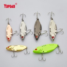 YAPADA VIB 304 Steel Battalion 10g/15g/20g/25g Treble HOOK 50mm/57mm/62mm/65mm Metal VIB Multicolor Fishing Lures