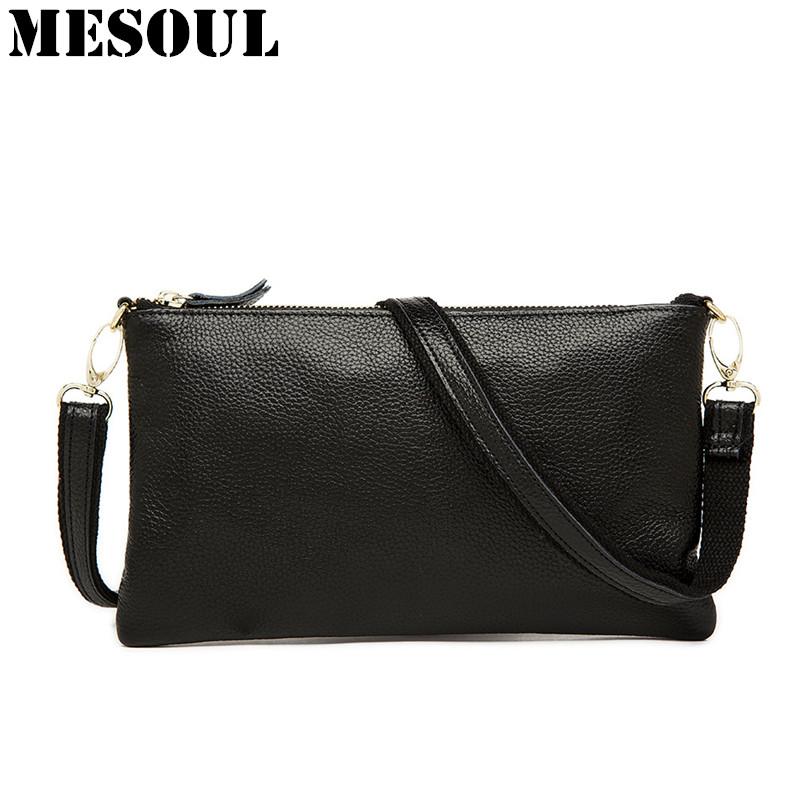 Genuine Leather Women Bag Evening Party Clutch Bags Purse Fashion Lady Shoulder Crossbody Satchel Messenger Bags