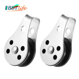 2PCS Stainless Steel 316 Pulle