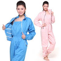 Slimming Sweat Suit Suspender Conjoined Trousers Coat Jacket Sauna Sports Yoga Dance Dress Female Bundle Type