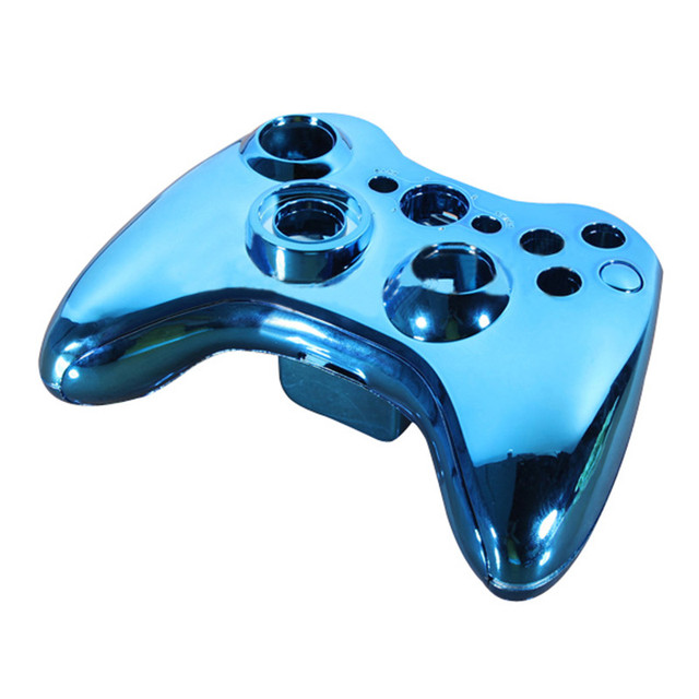 New Top Selling Glossy Chrome Wireless for Xbox 360 Controller ...