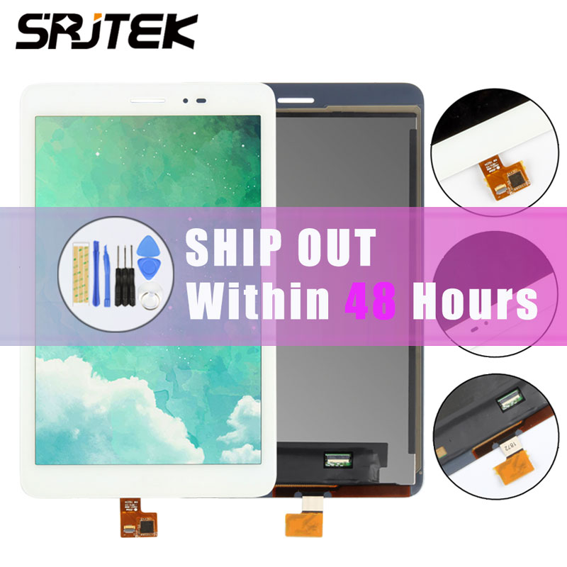 Srjtek 8 For Huawei MediaPad T1 8.0 Pro 4G T1-821L T1-821W T1-823L T1-821 N080ICP -G01 LCD Display Touch Screen Panel Assembly srjtek 9 6 for huawei mediapad t1 10 pro lte t1 a21l t1 a22l t1 a21w lcd display touch screen digitizer glass panel