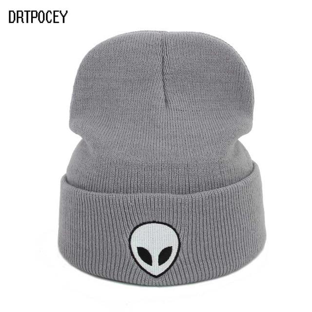 e83fd5b6d95 2017 New Cap Aliens E.T Knitting Cotton Men Women Hats Girls Caps Boys  Beanies Fashion Lady Warm Hat Wear Hats Accessories Cap