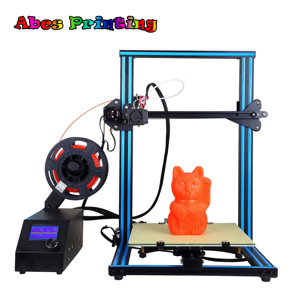 A10S 3D Printer Prusa I3 Dual Z-axis High Precision DIY Big Models for Student school EducationA10S 3D Printer Prusa I3 Dual Z-axis High Precision DIY Big Models for Student school Education
