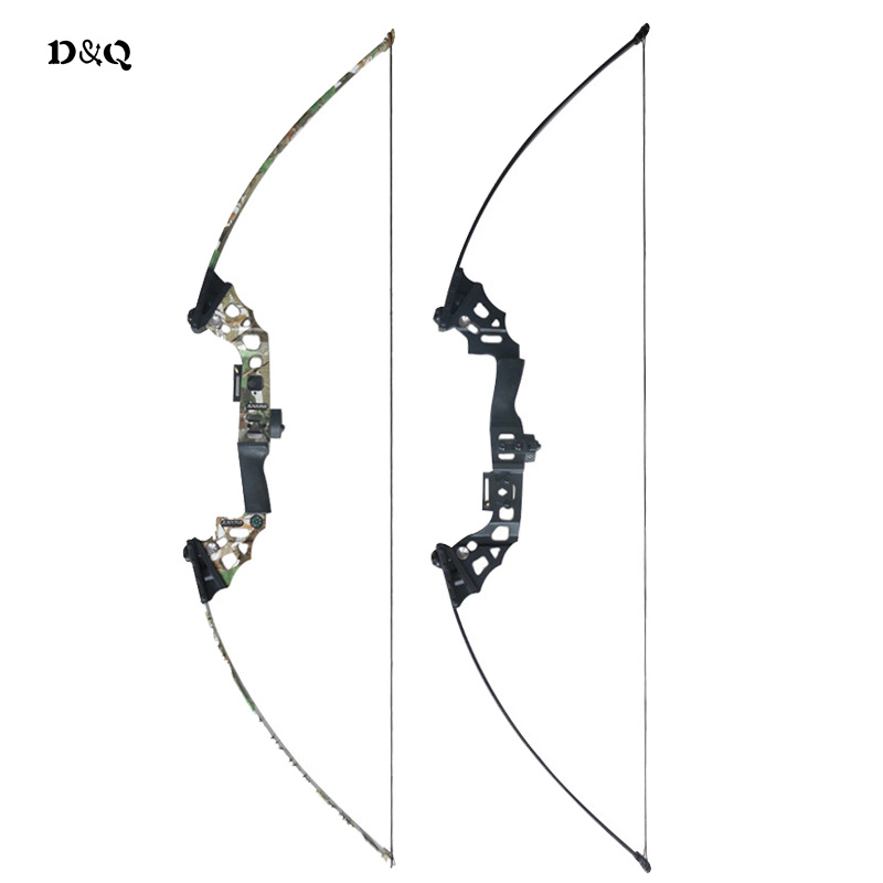 Archery Hunting Shooting Straight Bow 40lbs for Outdoor Fishing Target Practice Games Camo Black Slingshot Take Down Longbow hot sale children compound bow draw weight 8 12 lbs for archery practice competition games bow target hunting shooting