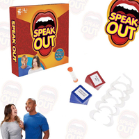 Fun Party Toys Speak Out Family Game Toys Funny Joke Toy Open Mouth And Show Teeth