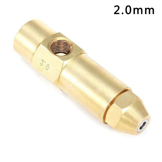 1.0/1.5/2.0/2.5mm Pesante Diesel Rifiuti Olio a base di Alcool Bruciatore di Uge
