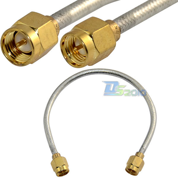 15cm RF Coaxial Pigtail SMA Male To Male Semi-rigid Cable Adapter RG402