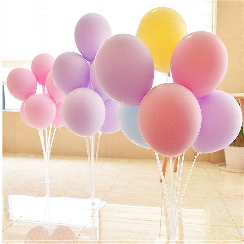 5pcs 12inch 2.2g Macaron Ballon Babyshower Wedding Balloons Valentine's Day Foil Helium Balloon Birthday Party Decorations Adult