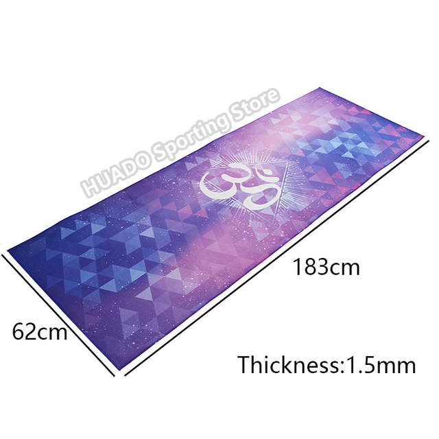 placeholder Colorful Rubber Fitness mat Yoga Mats Covers Health Fitness  Carpet Pilates Blanket Gym Exercise Pad Camping 059cc95f0