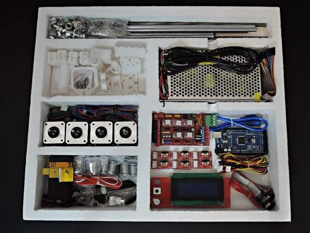 SINTRON] High Accuracy DIY 3D Printer full electronic Kit for Reprap