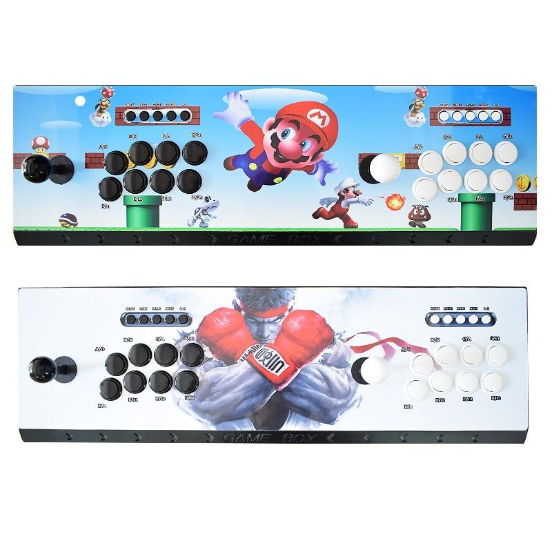 Raspberry pi 3B+ Arcade Console Recalbox 14K Games Installed 8 Buttons Design Retro Video Game Gift Machine for Children