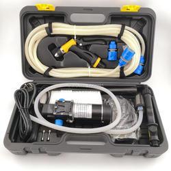 المنزلية 100w المحمولة ارتفاع ضغط سيارة كهربائية غسل غسالة 8Lpm 12V 24v آلة غسل سيارات غسالة