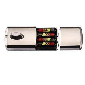 Image 4 - 安いスマートホームデジタルドアロック、防水インテリジェントキーレスパスワードステンレスピンコードドアロック電子デッドボルトロック