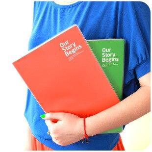 3104 South Korea stationery Paris creative notebook and environmental protection A4 diary book 1pcs