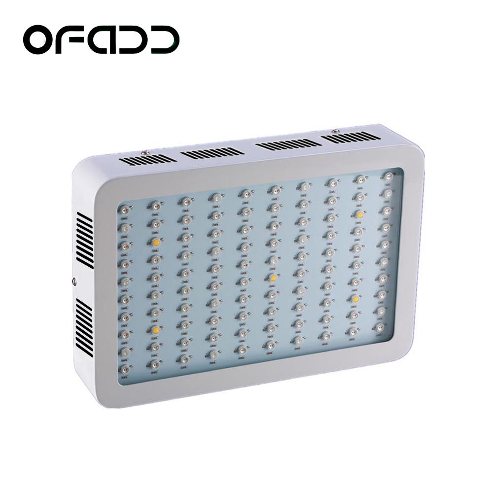 1000W Full Spectrum High Yield LED Grow Light For plants hydroponics Veg Flower Fruit indoor greenhouse grow tent lamps