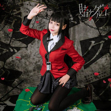 Japanese School Girls Uniform Anime Kakegurui Yumeko Jabami Cosplay Costumes