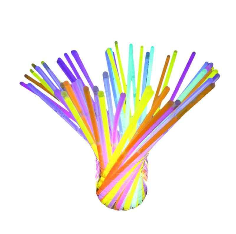 100 светящиеся игрушечные лошадки браслеты из светящихся палочек разноцветные партия поддерживает поставки (трубка 100) Z830