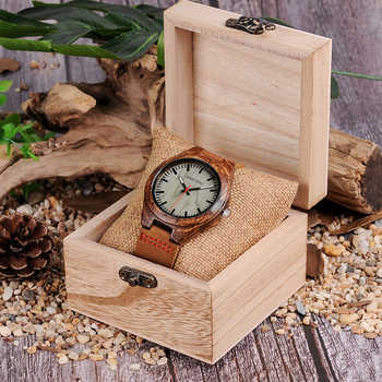 BOBO BIRD Wood Watch Men relogio masculino Special Design Timepieces Quartz Watches in Wooden Gifts Box W-Q05 DROP SHIPPING