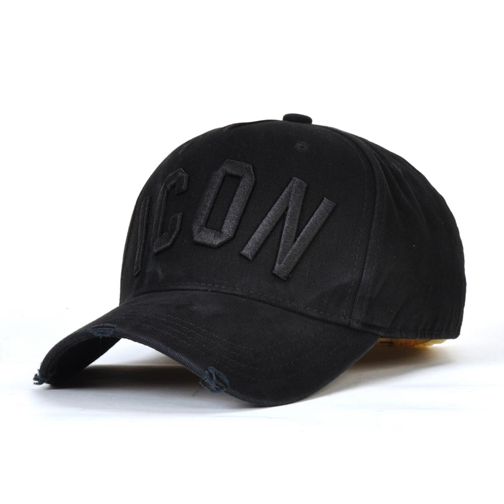 DSQICOND2 Casual Brand Snapback   Baseball     Cap   for Women Men 2018 ICON Solid Letter Snapback   Caps   DSQ Summer Bone Gorras Casquette