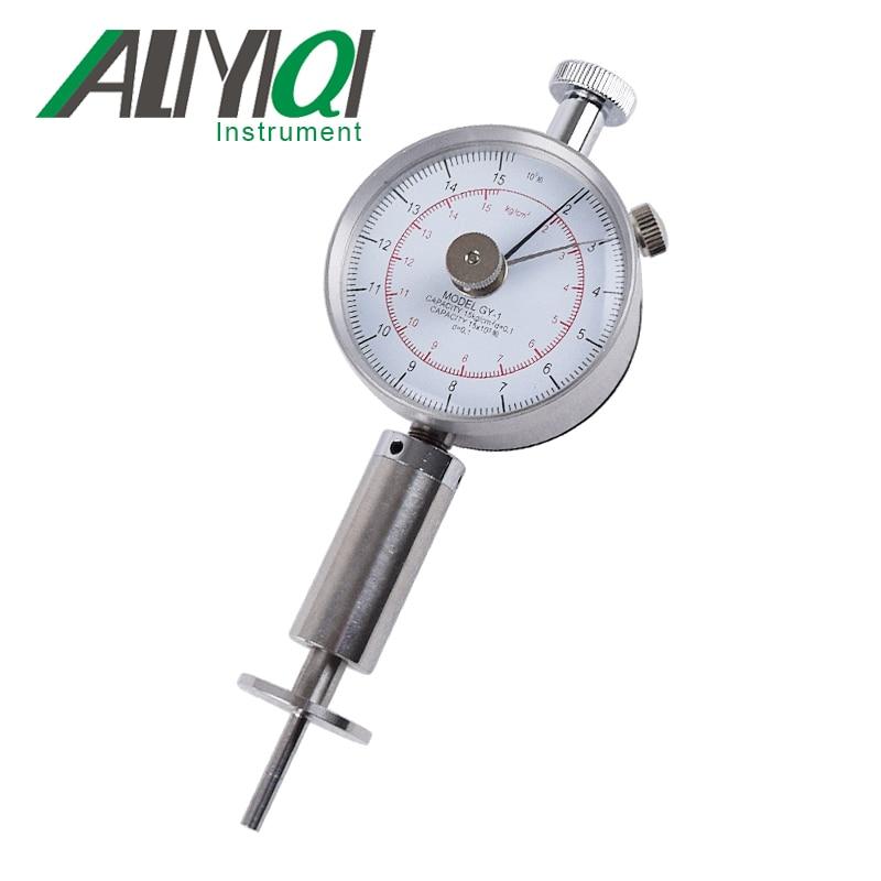 GY-1 Fruit Sclerometer Fruit Durometer Fruit Hardness tester Penetrometer freeshipping fruit hardness tester fruit sclerometer fruit penetrometer gy 3