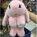 Мех кролика кожа цепь сумка женские модели новая зимняя трава мешок диагональ плеча сумку милый кролик мешок