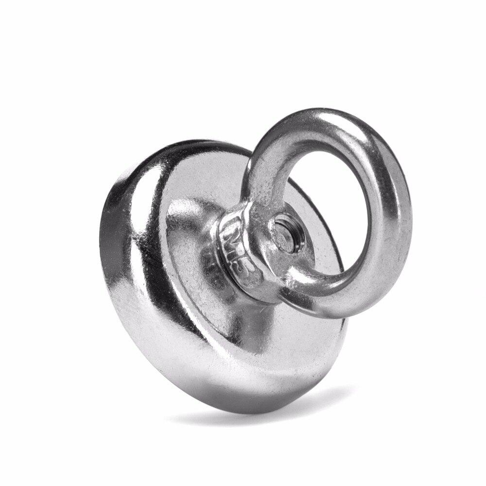Hot sale !! 1pcs D32mm*30mm M5 Neodymium Iron Boron Strong Magnet Circular Rings Salvage 25kg D32 x 30mm gunsafe bs968 d32 l43