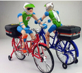 2014 novelty toys Electric character cyclist debugging automatic turn toy bike children like Christmas toys