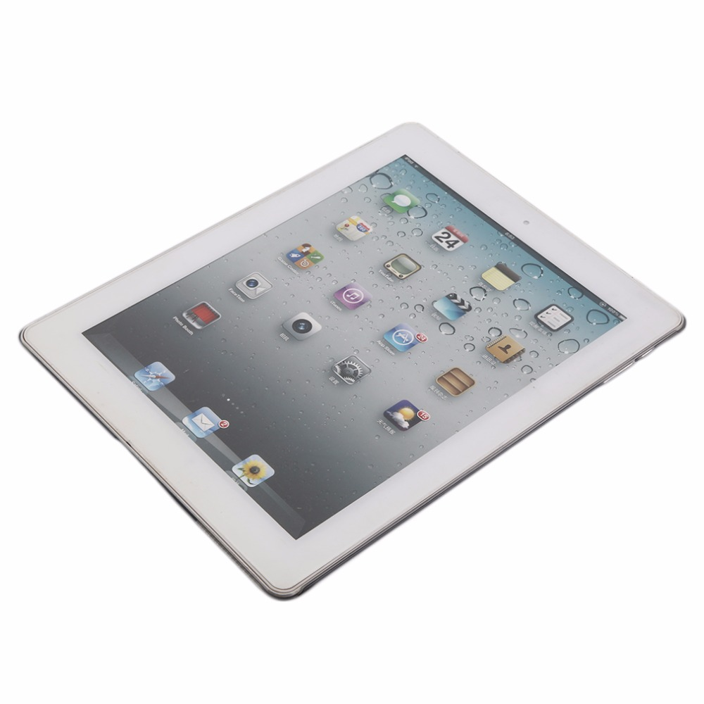 1Pcs For iPad 2 3 4 Stylish Clear Transparent PC Hard Back Protective Case Cover  Promotion Drop Shipping