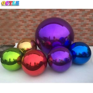 Ostyle гигантский надувной зеркальный шар для украшения ПВХ надувной шар с рождественским орнаментом рекламные надувные зеркальные