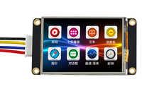 TJC3224K024_011R 2.4インチスクリーン強化されたusart hmiシリアルポートの設定画面拡張io eeprom tft液晶