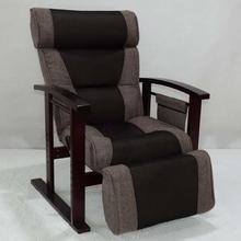 Современные Регулируемая Высота Стула с Османской Мебель для гостиной Роскошные Лежащего кресло стул отдыха для пожилых