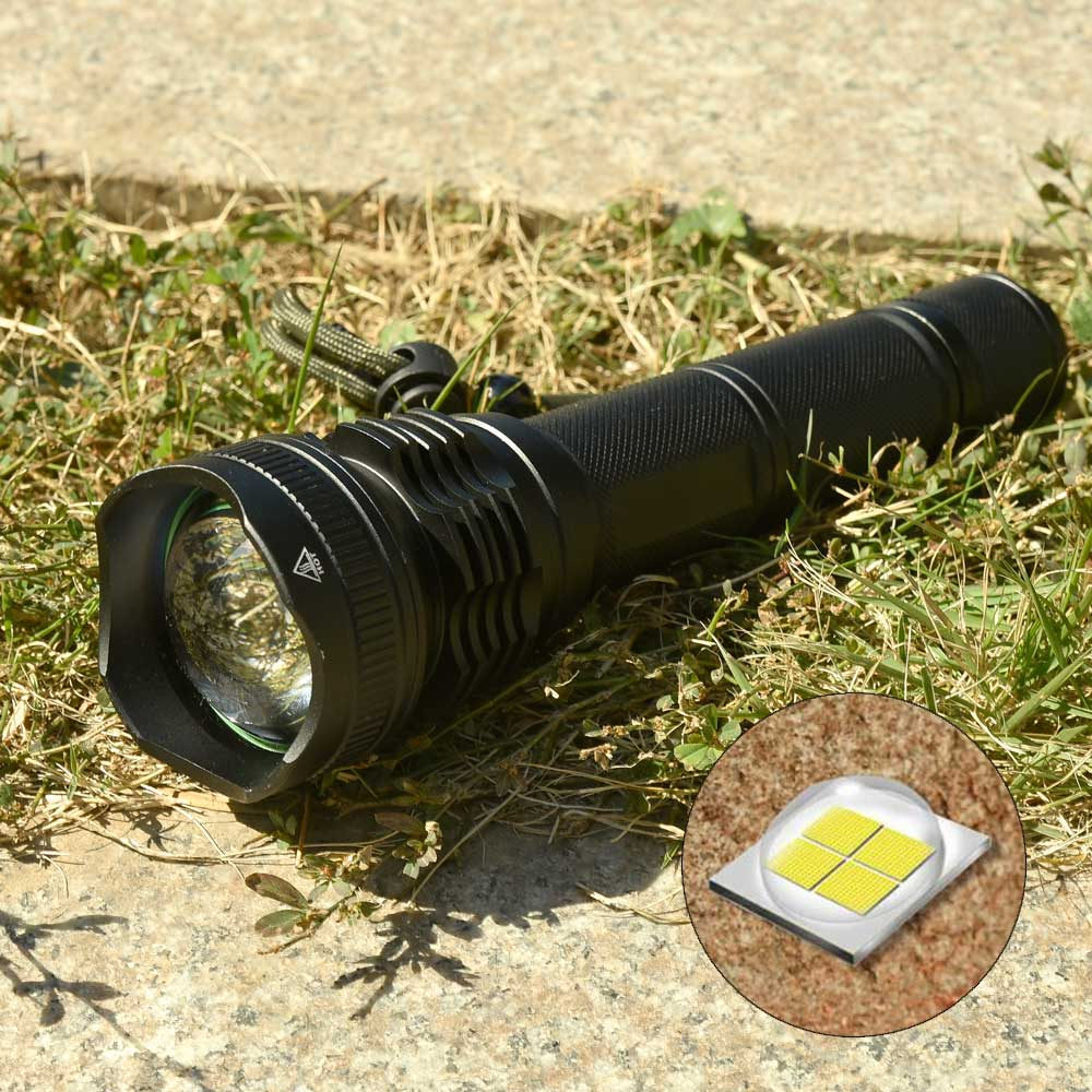 ANYIGE High Power LED Flashlight XHP50 2000LM Waterproof Zoom Tactical Flashlight Torch Use 2*18650 Battery Rechargeable Battery high power led searchlight lantern built in battery handheld portable flashlight torch rechargeable waterproof hunting lamps