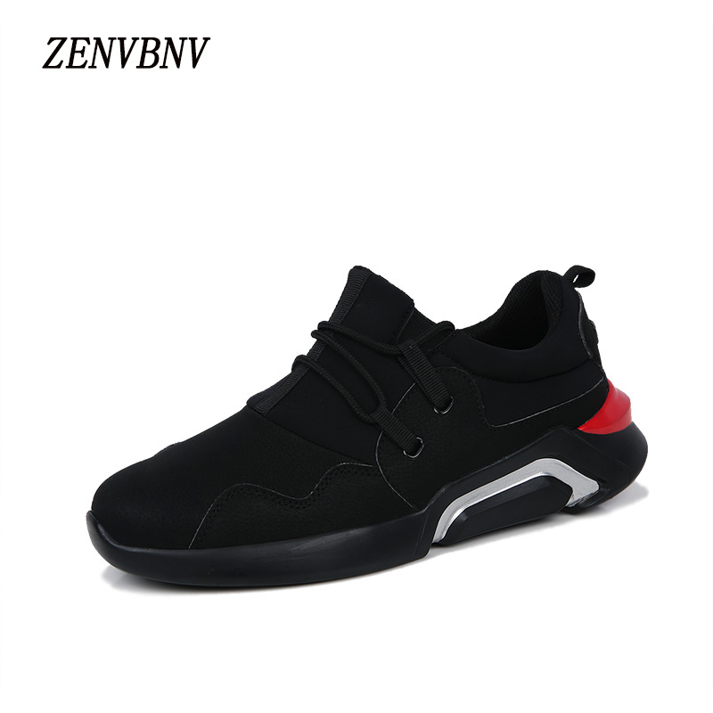 ZENVBNV Men Shoes Casual Brands Lace-Up Mens Trainers 2017 Designer Walking Gym Shoes Men Flats High Quality Zapatillas Hombre  autumn leather mens outdoor men canvas shoes mens casual shoes lace up mens men trainers zapatillas zapatos hombre