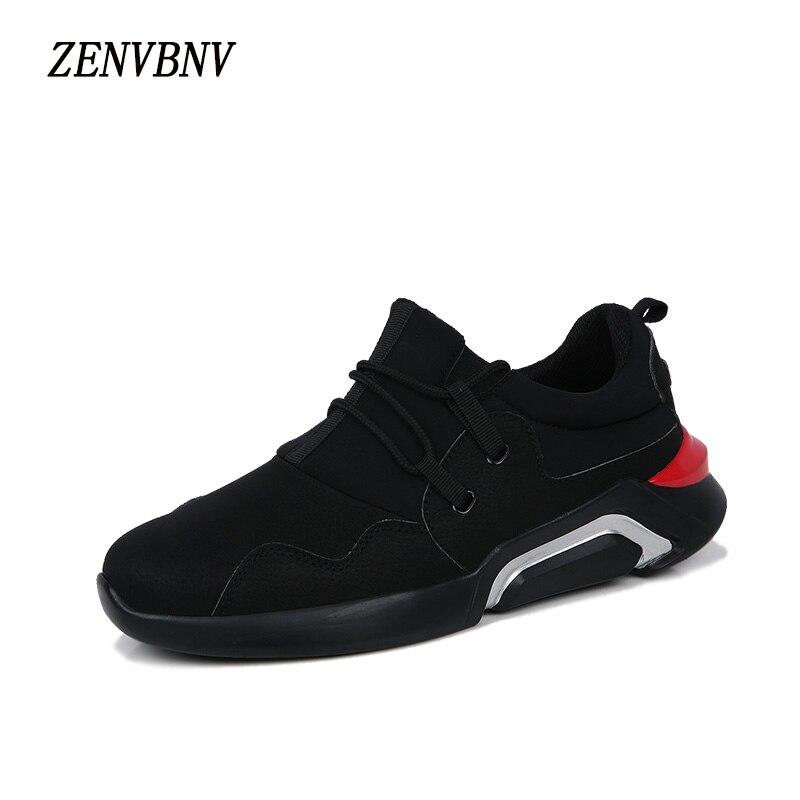 Zenvbnv Мужская обувь Повседневное брендов Кружево-Up Для мужчин S кроссовки 2017 дизайнер прогулки тренажерный зал Обувь Для мужчин Высококачест…