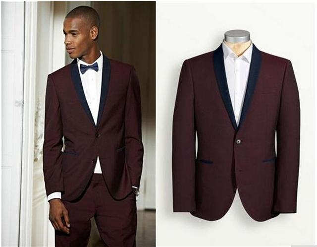 Fashion Groom Tuxedos Best Man Bride Formal male Suits design ...