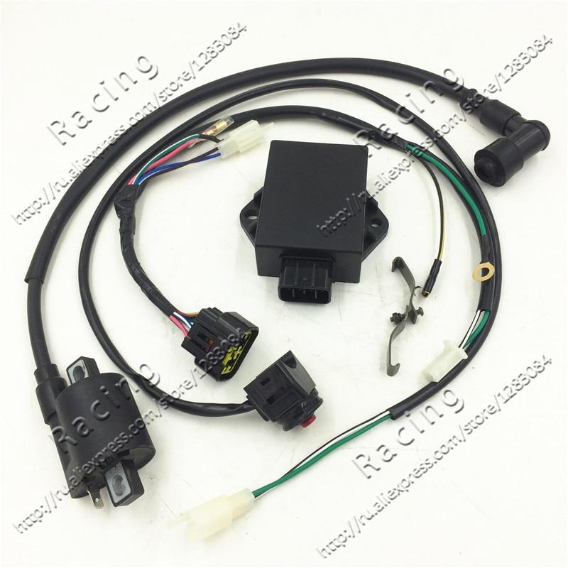 Выполните Провода Жгуты проводки ткацкий станок w150cc zs155cc Пит Pro Trail Байк