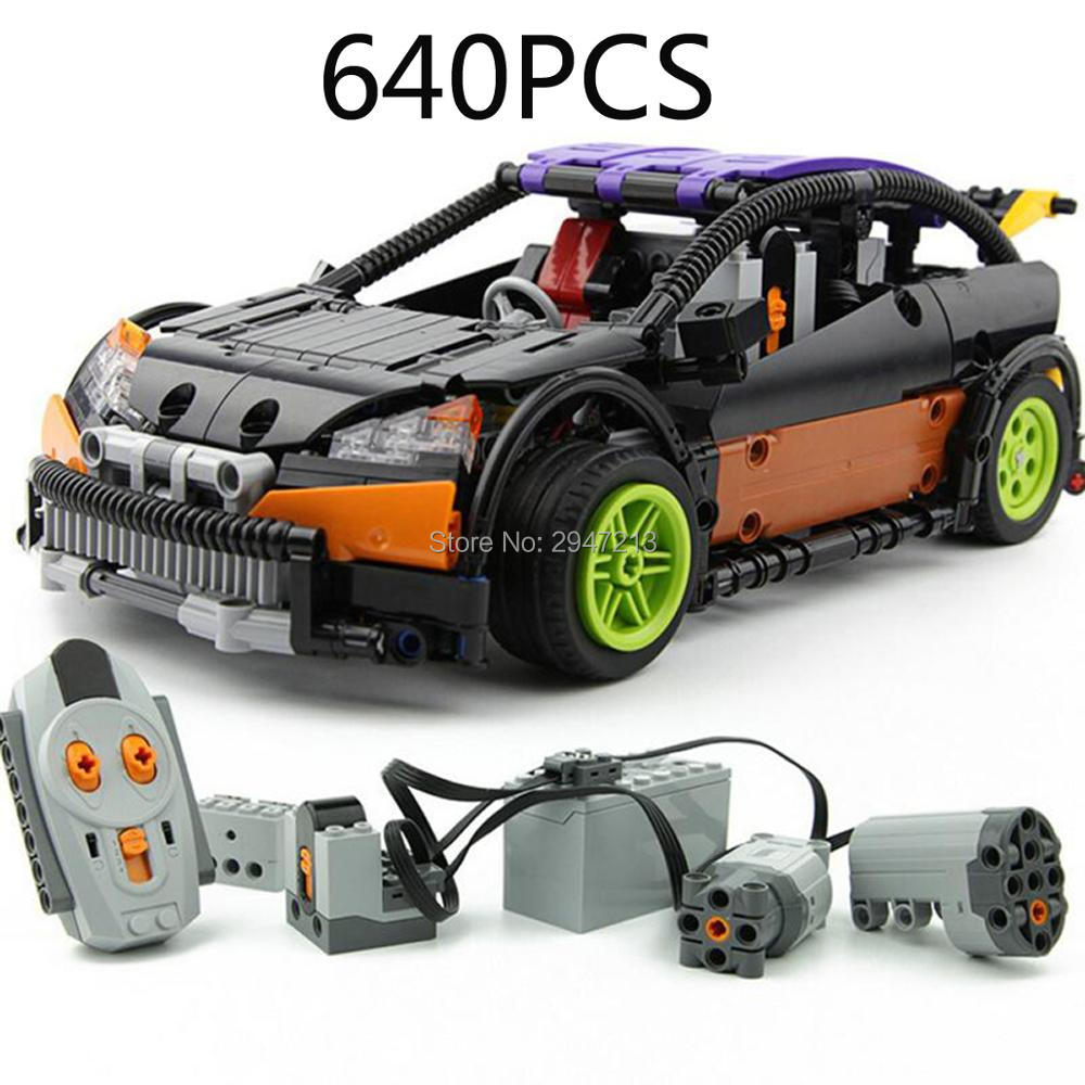 hot compatible LegoINGlys technic Series The Berlin Type R Racing car moc Building Blocks Sports car brick toys for Children compatible legoinglys technic series class sports car f40 1158pcs elementary education building blocks toy for children gift