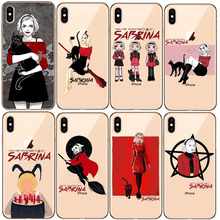 Chilling Adventures of Sabrina Pattern TPU Soft Phone Case For iPhone 8 7 6 6S Plus X XS MAX 5 5S SE XR Cellphones