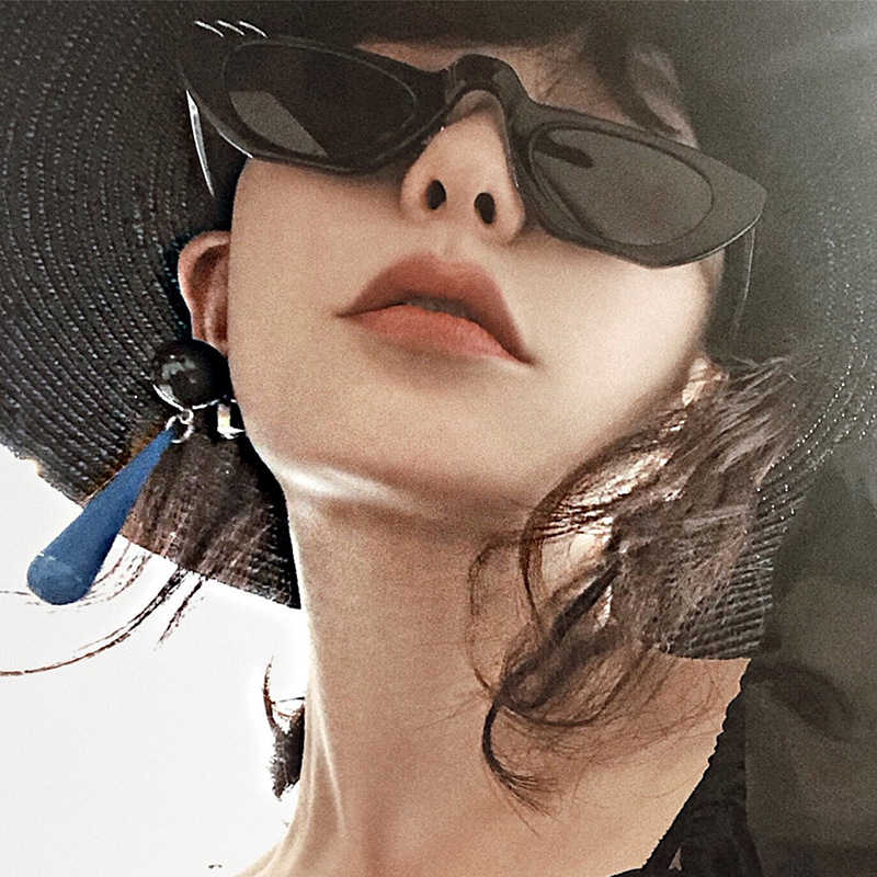 GUANGDU Vintage Sexy Women Sunglasses Female Cat Eye Luxury Brand Designer Sunglasses Women Retro Oculos de sol feminino UV400